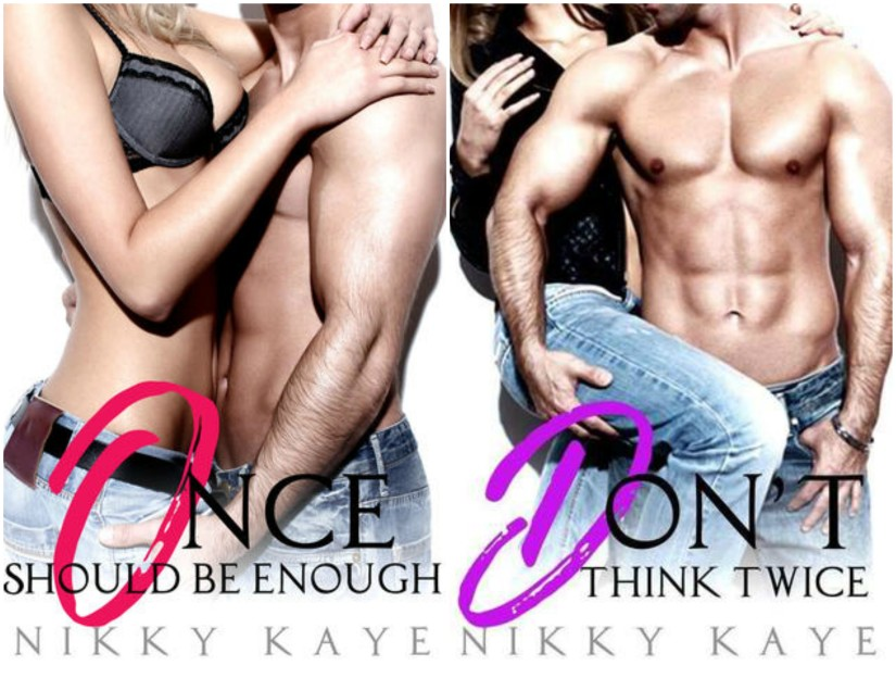 Once Should Be Enough Series by Nikky Kaye